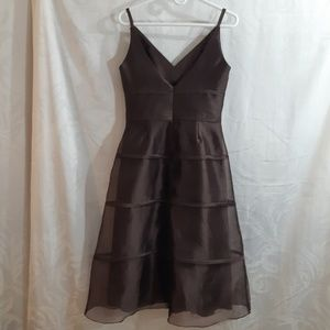 Alfred Sung Chocolate Dress